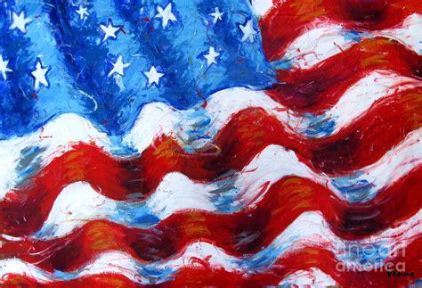 american flag canvas art
