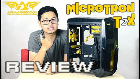 Powerlogic Armaggeddon Microtron T2x Putih armaggeddon microtron t2x review