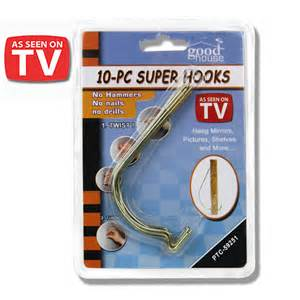 hooks to hang pictures without nails 10pc hooks hang pictures without hammer nails ebay