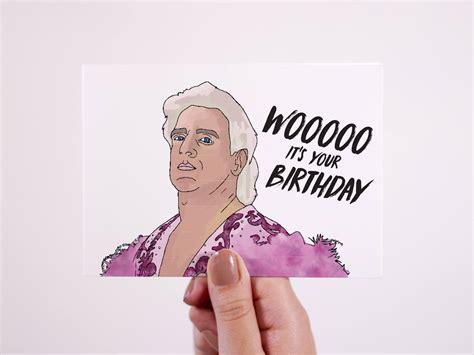 Ric Flair Birthday Card ric flair birthday card woooo it s your birthday