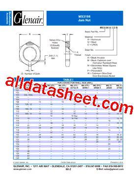 transistor a102 datasheet ms3186 a102p datasheet pdf glenair inc