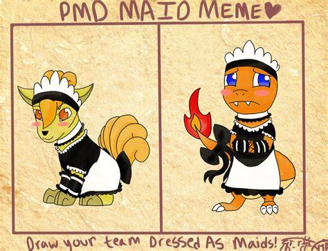 Maid Meme - team fireheart maid meme by snowkuki on deviantart