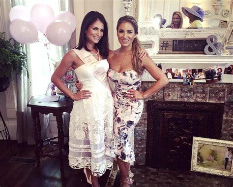 sydney rae james celebrates bridal shower