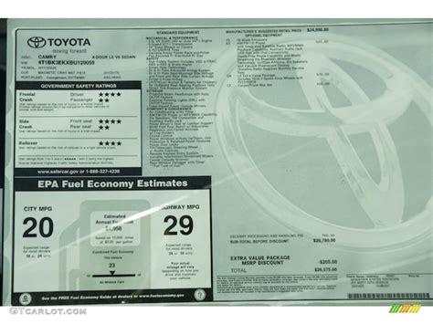 Toyota Window Sticker By Vin Find Toyota Window Sticker By Vin