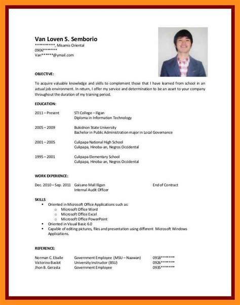 high school cover letter no experience high school sample resume