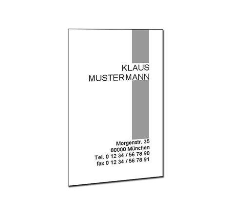 Visitenkarten Hochformat by Visitenkarten Hochformat Pers 246 Nliche Visitenkarten Drucken