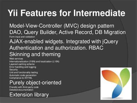 mvc pattern adalah materi presentasi yii gathering php maret 2012