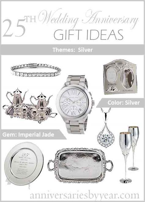 Twentyfifth Anniversary   25th Wedding Anniversary Gift Ideas