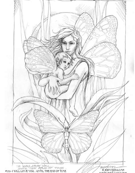 coloring pages advanced fantasy free fairy fantasy coloring pages by phee mcfaddell and more