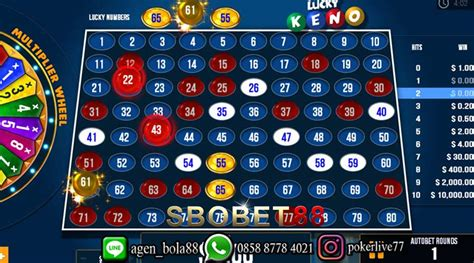 tips bermain judi keno indosbobet vip