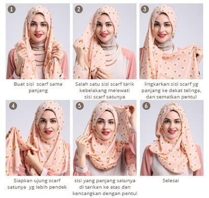 9 gambar tutorial berhijab modern dan tutorial hijab modern 2016 praktis modis dan elegan