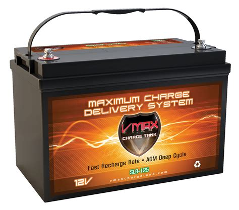 price of solar batteries slr125 12volts 125ah cycle solar agm battery