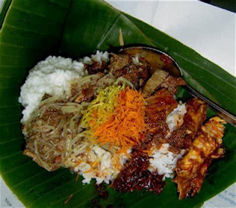 sarapan khas  indonesia daerah carapedia