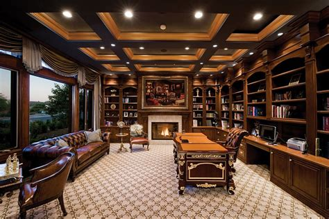 pictures of home office library 40 gorgeous ideas for a sizzling home office with fireplace