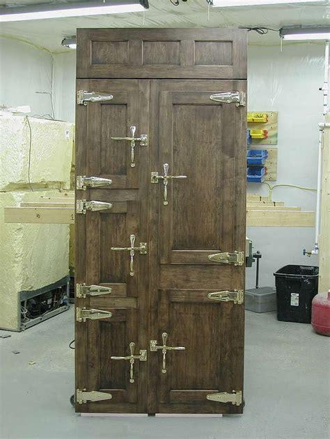 images   wood ice box  pinterest boxes  sale refrigerators  doors