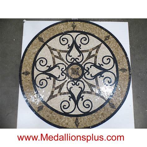 Floor Medallion by Kristine Ii 60 Quot Polished Mosaic Floor Medallion