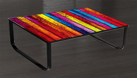 Rainbow Tables by Of The Week Lorelai Rainbow Glass Coffee Table Frances Hunt