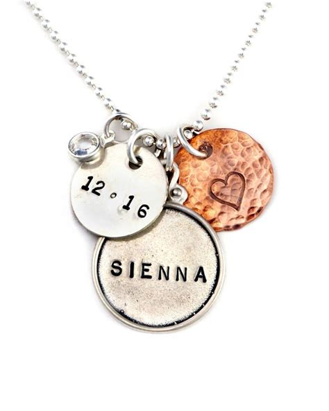 new mother charm necklace present 174 new personalized necklace