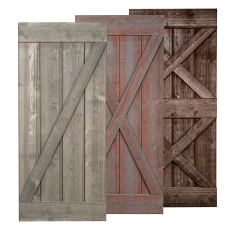 Real Barn Doors Weathered Barn Door