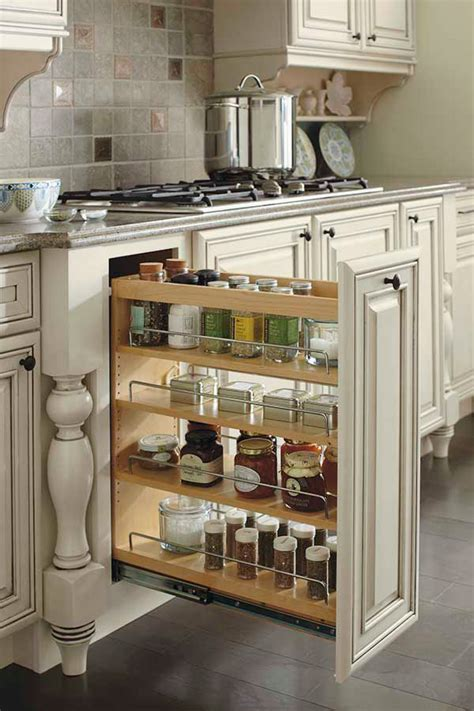 base pantry pull  cabinet kemper cabinetry