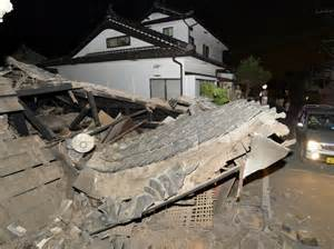 Strong quake hits Japan, two dead   Otago Daily Times