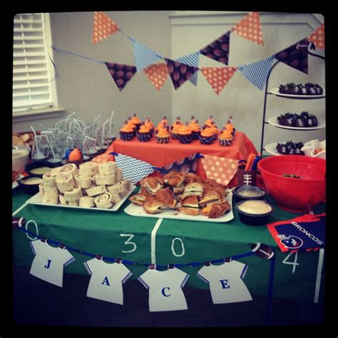 football themed baby shower decorations 17 best images about baby shower ideas on