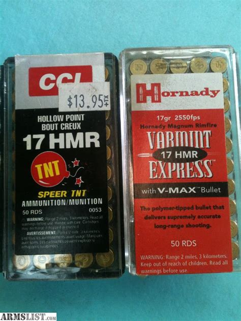 17 hmr ammo for sale bulk rounds in stock today armslist for sale 17 hmr ammo 2 boxes 100 rounds