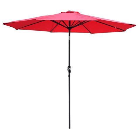 Best Patio Umbrella For Shade Patio Umbrella 9 Aluminum Patio Outdoor Market Umbrella Tilt W Crank Sun Shade Tmart