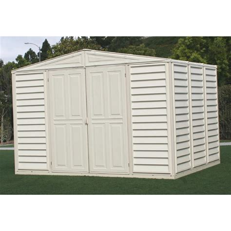 Duramax Sheds For Sale by Duramax 174 10x8 Woodbridge Vinyl Shed 130905 Sheds At Sportsman S Guide
