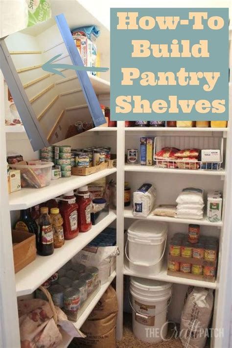 How To Build A Food Pantry by Best 25 Pantry Shelving Ideas On Pantry Ideas