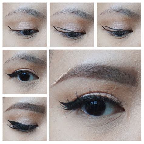 eyeliner tutorial for asian eyes winged eyeliner tutorial kirei makeup