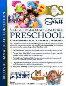 preschool flyer template 17 best images about enrollment on flyer