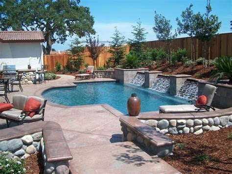 home pools envision pools lincoln ca 95648 916 434 9909 landscaping
