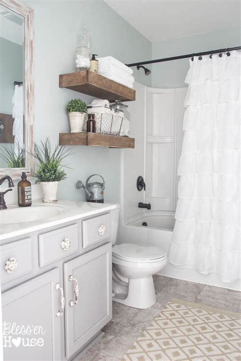 bathtub makeover modern farmhouse bathroom makeover reveal