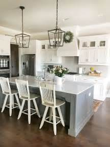 Farmhouse Kitchen Light 25 Best Gray Island Ideas On Kitchen Island With Sink Gray And White Kitchen And
