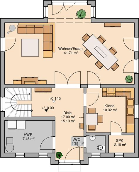 Grundriss 4 Schlafzimmer by Best 25 Bungalow Homes Plans Ideas On