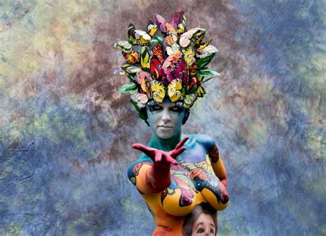 world bodypainting festival the 20th world bodypainting festival kicks in austria