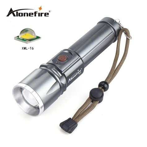 Led Cree 6 Mata Alonefire X900 Cree Xml T6 Led Zoom Led Torches Zoomable Led Flashlight For 18650 Or 26650