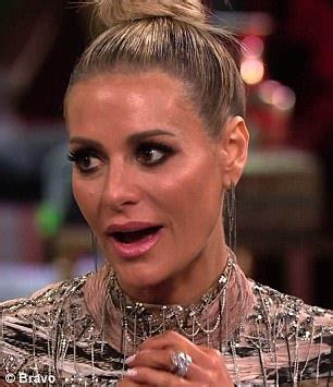 does lisa rinna have a son erika girardi lashes out at co stars in tense reunion