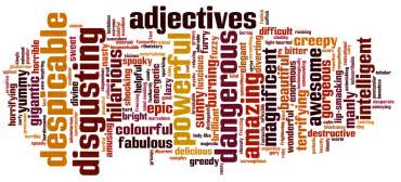 adjectives random thoughts about strong a i