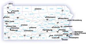 Map Of Pennsylvania Cities And Towns by Overview Pennsylvania Drug Threat Assessment