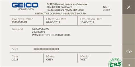 Auto Insurance Card Template » ibrizz.com