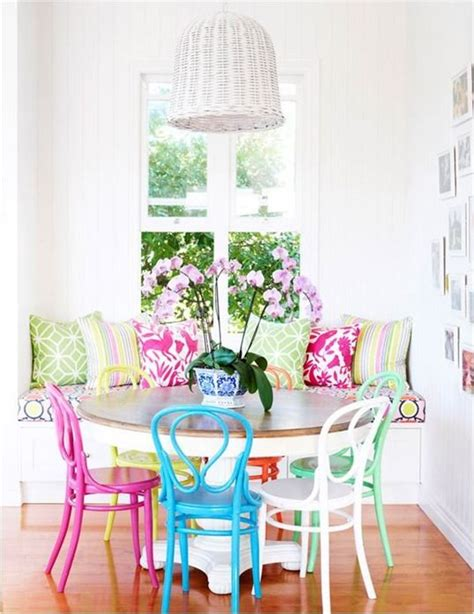 colorful dining table best 25 colorful kitchen tables ideas on pinterest