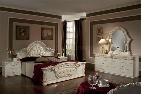 beige bedroom furniture rococo bedroom in beige by vig