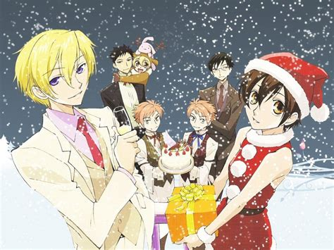 host club christmas ouran high school host club