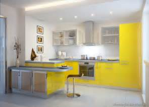 Yellow Kitchen Cabinet Kitchen Cabinets Modern Yellow 010 S30411235x2 Peninsula Seating Glass Doors Small Jpg 800 215 571