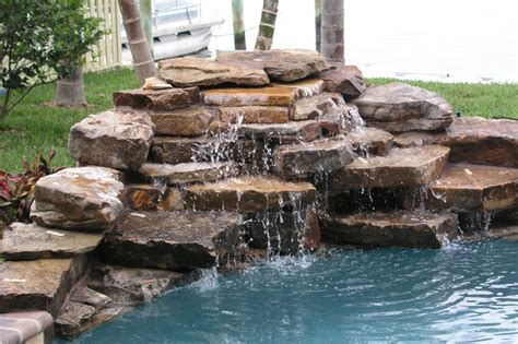 pool fountains and waterfalls best 25 pool waterfall ideas on pinterest pool fountain