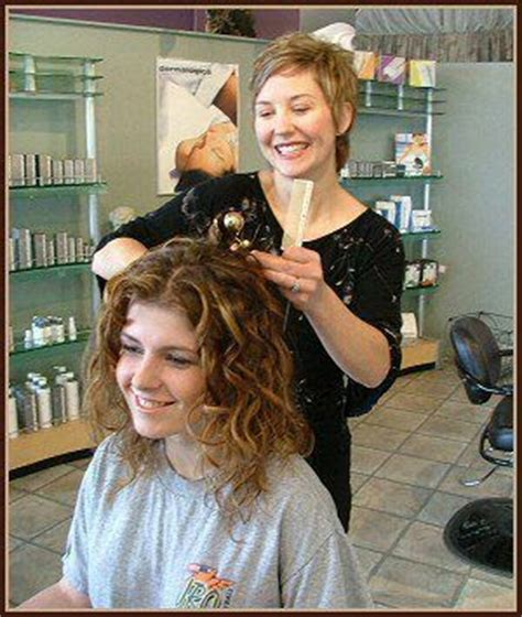 perm at old ladies hairdressers health fashion today history of permanent waves or
