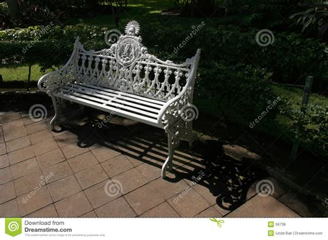 ornate bench ornate park bench royalty free stock photos image 56738