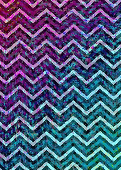 galaxy zig zag wallpaper quot zig zag chevron pattern quot by medusa81 redbubble